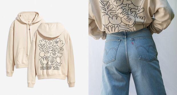 Pullover aus nachhaltiger Hanf-Kollektion Levi's