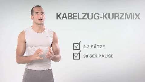 Quick-Sixpack-Workouts Folge 32: Sixpack-Kurzmix am Kabelzug