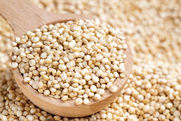 Quinoa enthält reichlich Magnesium und Lysin