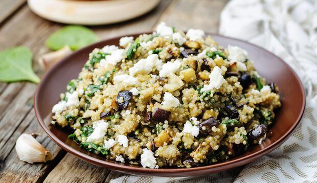 Quinoa ist ein guter Kohlenhydrat-Lieferant