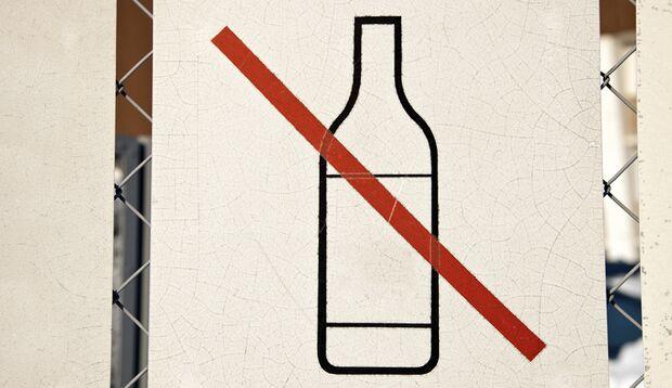Regel Nr. 1: Verzichten Sie auf Alkohol!