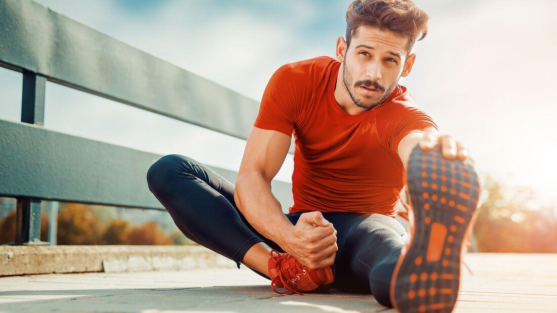 Regelmäßiges Dehnen reduziert die Verletzungshäufigkeit