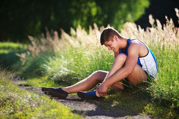 Reizung der Achillessehne