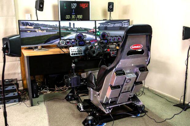 Rennauto Simulatoren