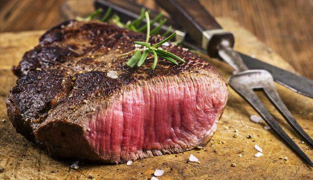 Rezept-Ideen für den Ernährungsplan: Steak zum Abendessen