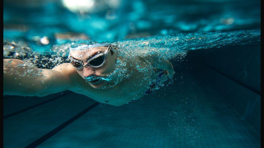 Richtig schwimmen für Anfänger und Fortgeschrittene