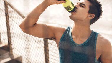 Richtig trinken beim Sport – so geht's