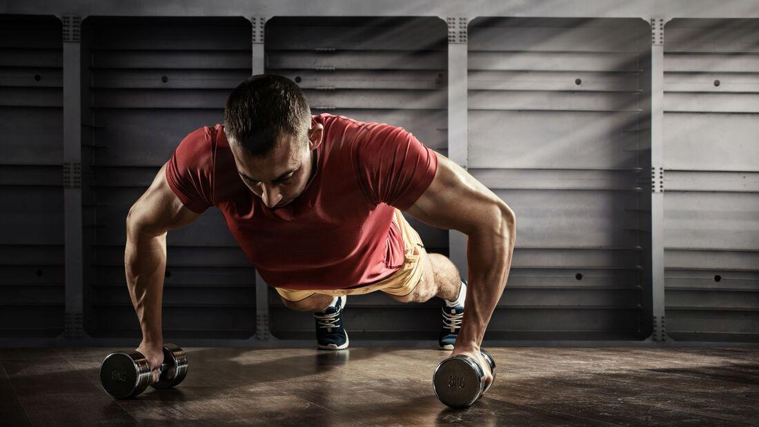 Ringer-Workout für flexible Muskeln