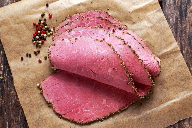 Roastbeef ist fettarm und lecker