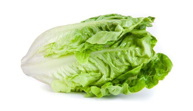 """Römersalat bildet die Grundlage des Salatklassikers """"Caesar's Salad"""""""