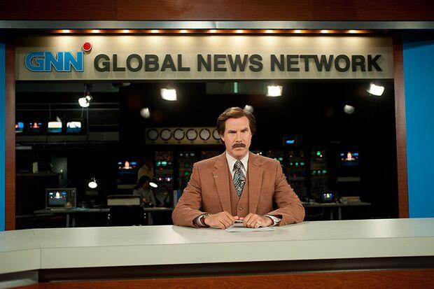 Ron Burgundy (Will Ferrell) wird Moderator beim 24-Stunden-News-Service GNN