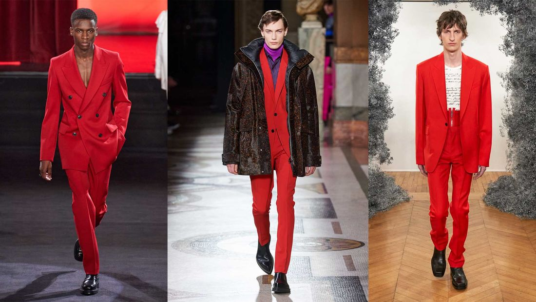 Rot / Designer-Trends FW20