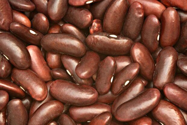 Rote Bohnen enthalten viel Ballaststoff