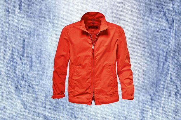 Rote Jacke von Marc O' Polo