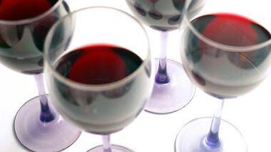 Rotwein ist gesund