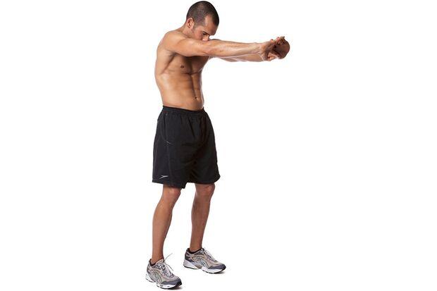 Rücken- und Schulterdehnen