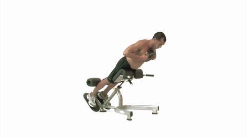 Rumpfheben mit Gewicht /maschinen_065-hq