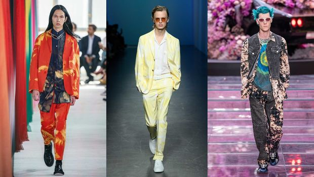 Runway Trends 2020 Tie Dye