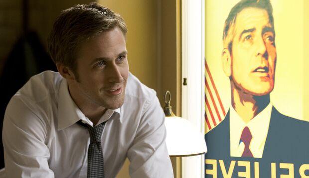 Ryan Gosling und George Clooney verkaufen beim Kampf ums US-Präsidentenamt ihre Seele.