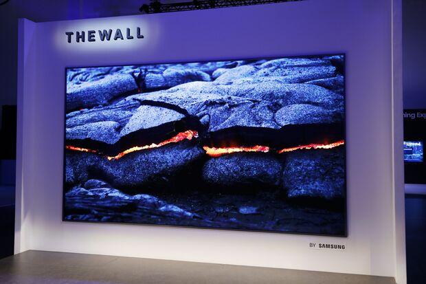 """Samsung zeigt """"The Wall"""" auf der CES 2018"""