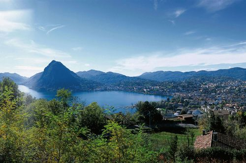 San Salvatore – Das Wahrzeichen der Orte Lugano, Carona und Morcote