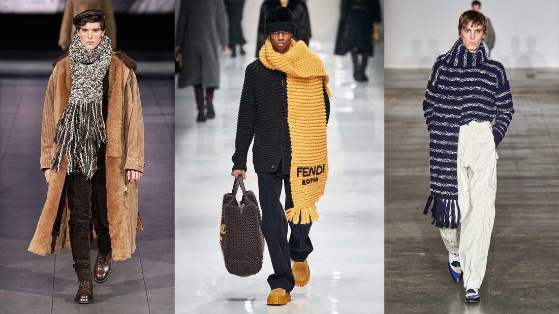 Schals / Designer-Trends FW20