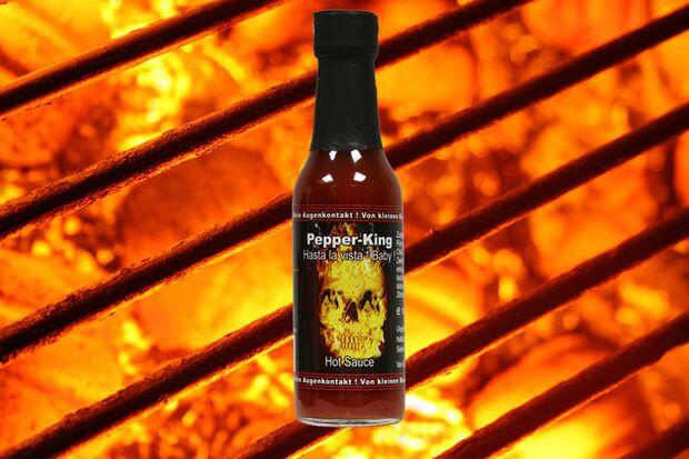 Scharfe Sauce von Pepper King
