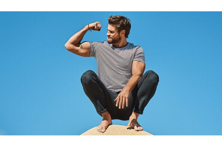 So trainiert Action-Star Liam Hemsworth