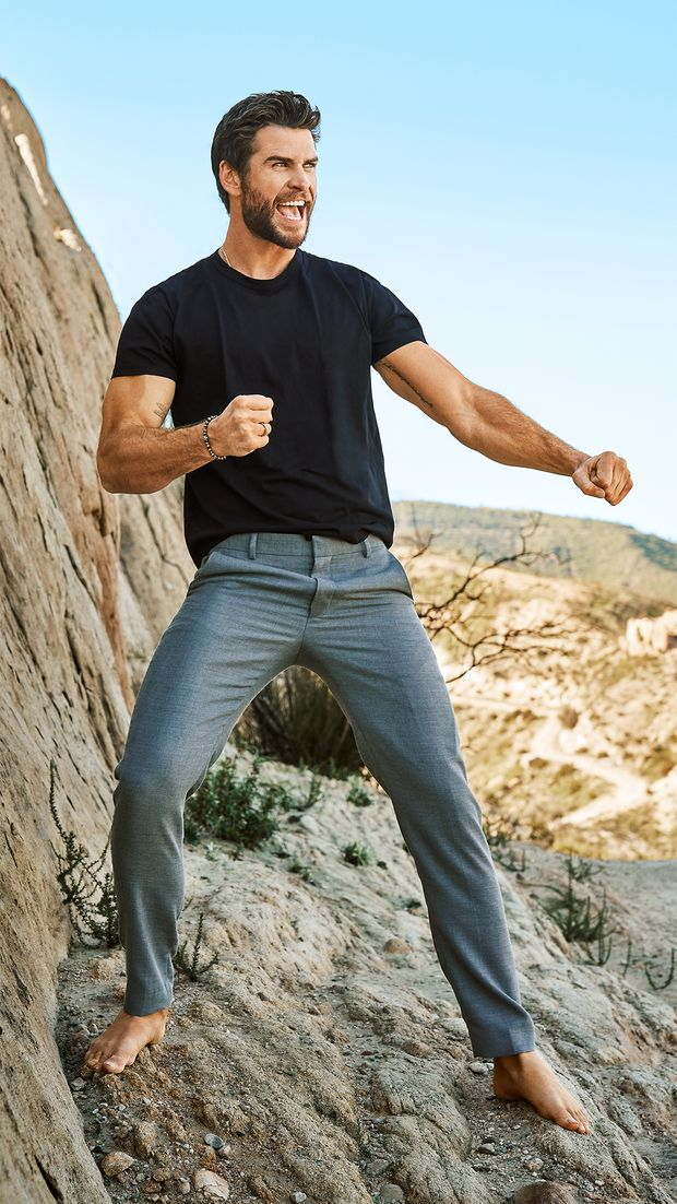 Schauspieler Liam Hemsworth stand lange im Schatten seines älteren Bruders Chris
