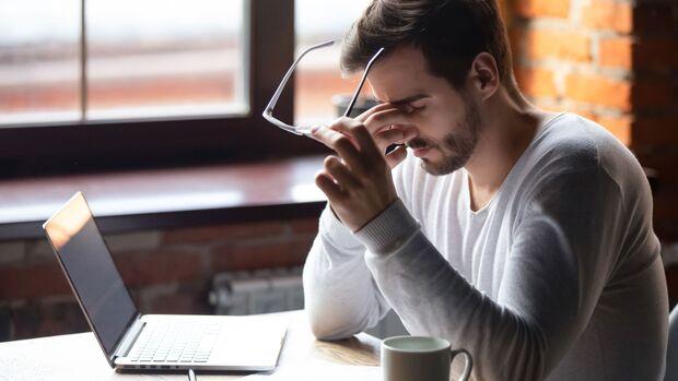 Schlafmangel schadet langfristig der Gesundheit.