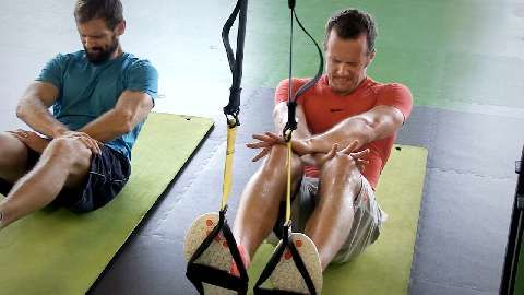 Schlingentraining als Fitness-Kurs - der Test