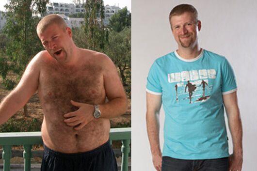 Schnell abnehmen: Alexander nahm 24 Kilo ab