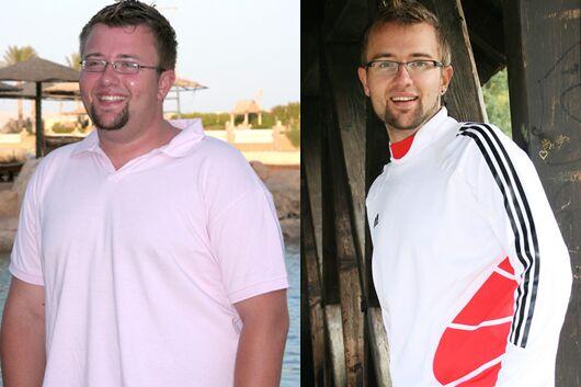 Schnell abnehmen: Björn nahm 60 Kilo ab