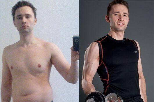 Schnell abnehmen: Bruno nahm 18 Kilo ab