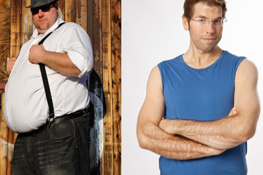 Schnell abnehmen: Florian nahm 104 Kilo ab