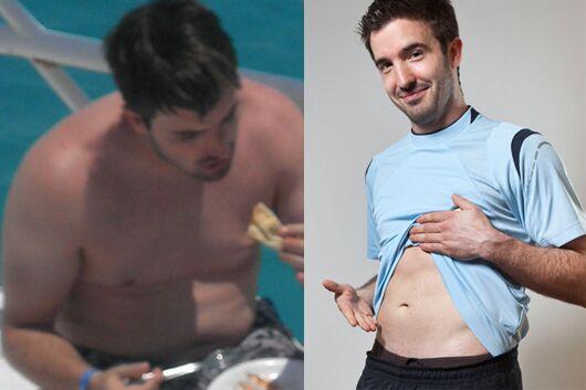Schnell abnehmen: Florian nahm innerhalb von 3 Monaten 10 Kilo ab