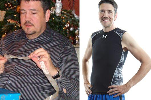 Schnell abnehmen: Jan nahm 42 Kilo ab