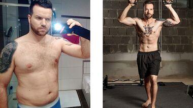 Schnell abnehmen: Manuel hat 16 Kilo abgenommen