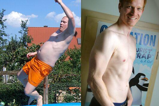 Schnell abnehmen: Matthias nahm 16 Kilogramm ab