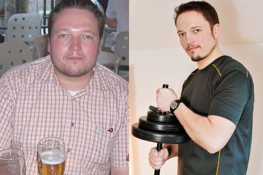Schnell abnehmen: Ronny nahm 32 Kilo ab