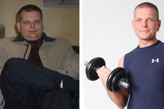 Schnell abnehmen: Stefan nahm 29 Kilo ab