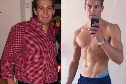 Schnell abnehmen: Steven nahm 20 Kilo ab