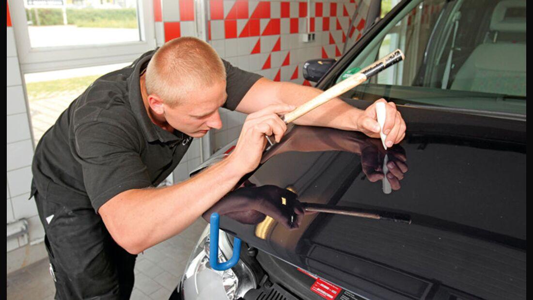 Schnelle Hilfe mit Smart-Repair-Verfahren