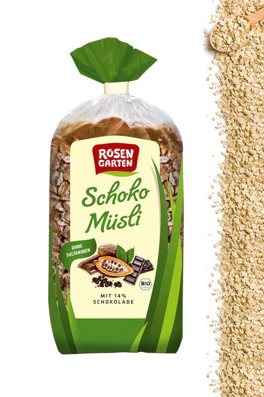 Schoko-Müsli von Rosengarten