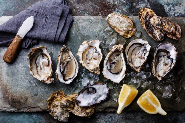 Schon 50 Gramm Austern decken den Tagesbedarf