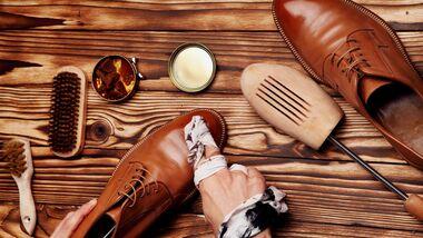 Schuhe richtig pflegen