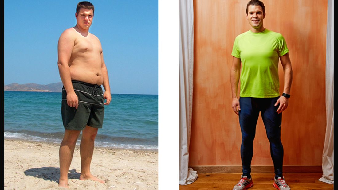 Sebastian hat 42 Kilo in einem Jahr abgenommen