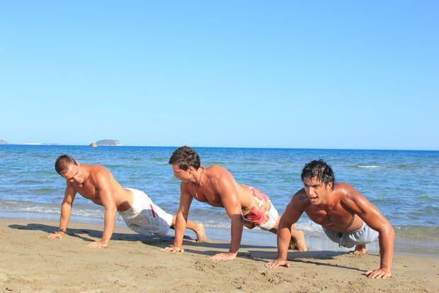 Seien Sie dabei: Das Men's Health Camp in Andalusien