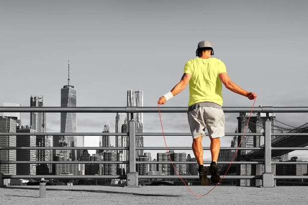 Seilspringen fördert die Koordination