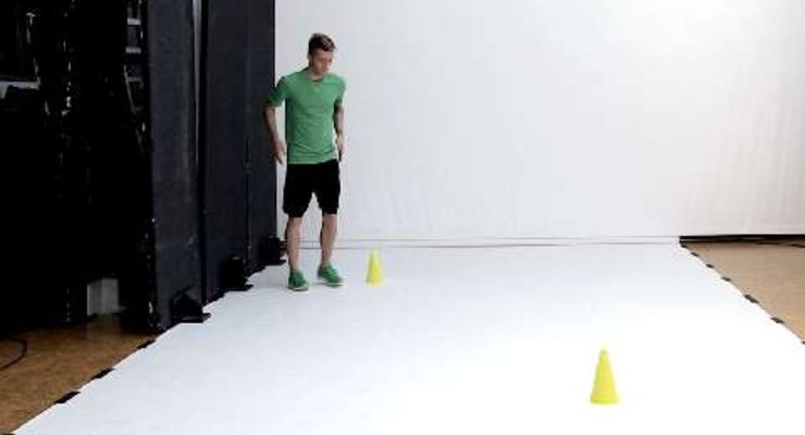 Seitliche Temposprünge - Fußball-Workout fürs Tempo mit Marco Reus